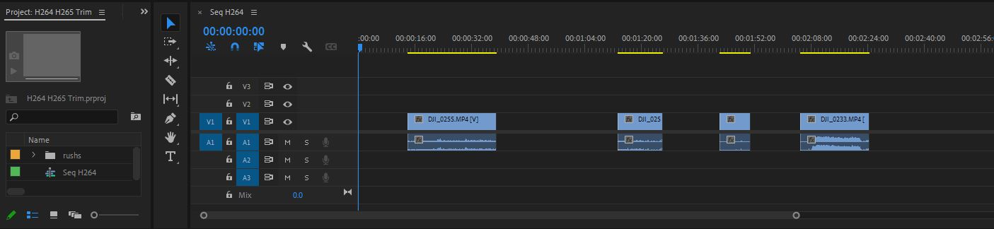 Autokroma PlumePack Premiere Pro Trim InPoint OutPoint Selection